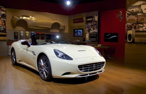 Ferrari Tailor-Made Paris Motor Show California