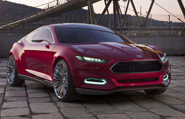 Ford Mustang 2014 2015 artist impression