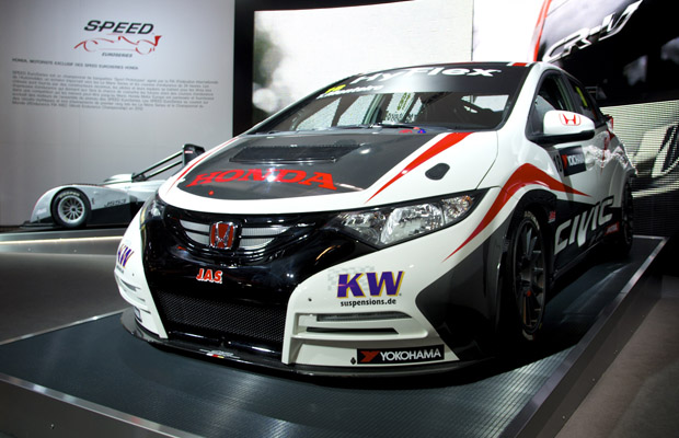 Honda Civic WTCC Paris Motor Show