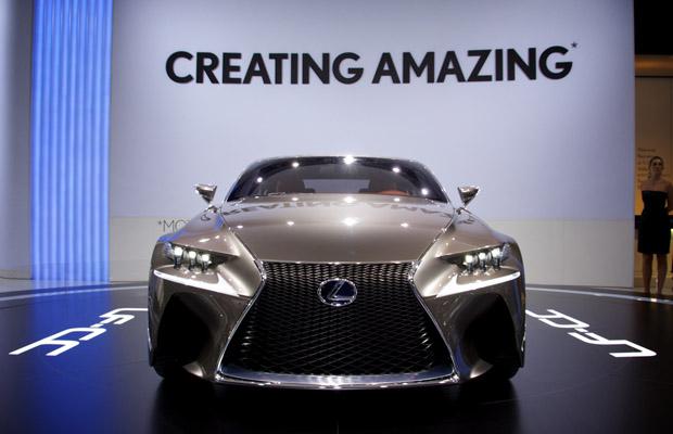 Lexus LF-CC Concept Paris Motorshow 2012