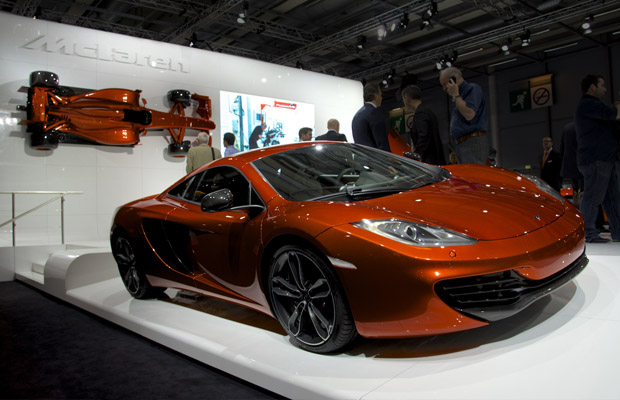 McLaren MP4-12C Paris Motor Show