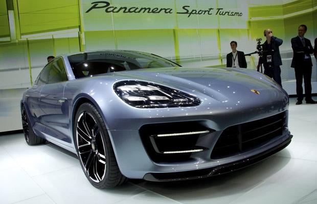 Porsche Panamera Sport Turismo Shooting Brake Concept