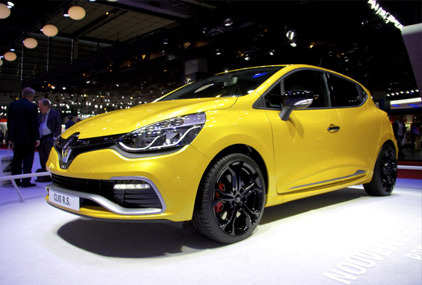 Renault Clio RS Paris motor show 2012