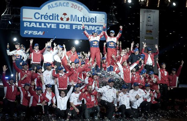 Sebastien Loeb WRC France 2012