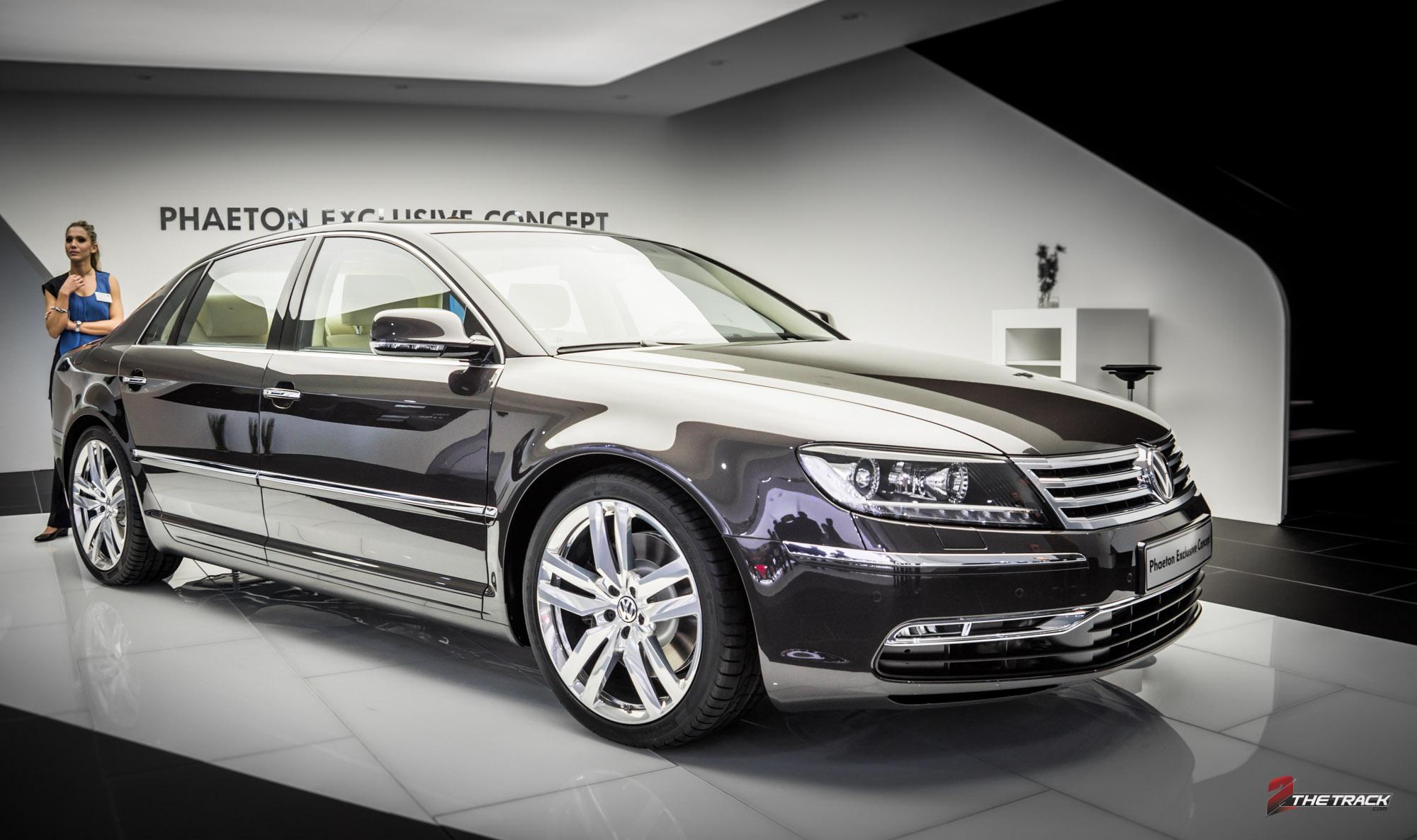 Volkswagen Pheaton Exclusive Concept Mondial l'Automobile Paris Motor Show 2012-1