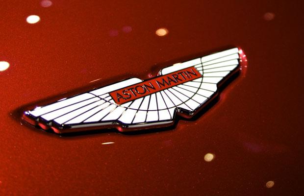Aston Martin Logo V12 Zagato Autosalon Geneve 2012