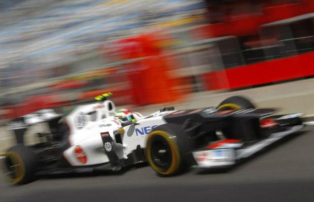 Robin Frijns 2012 testrijder Sauber