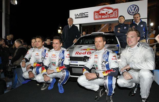 2013 Volkswagen Polo R WRC debut Monaco 2013