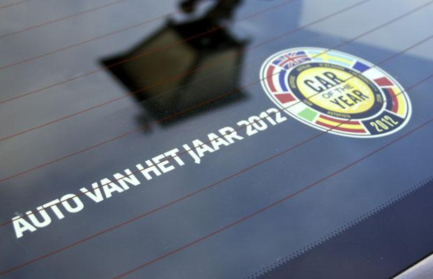 Auto van het jaar 2012 car of the year 2012