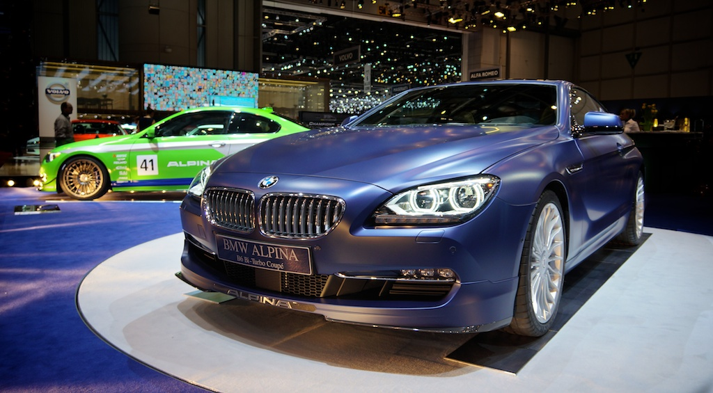 BMW Alpina B6 Bi-Turbo B3 GT3