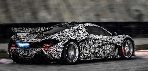 McLaren P1 tests 2013