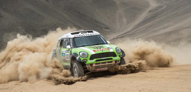 Mini Countryman All4 Dakar 2013 Stephane Peterhansel