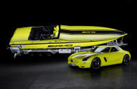 AMGCigarette AMG Electric Drive Concept Cigarette Racing powerboat