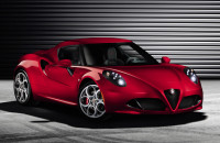 Alfa Romeo 4C official Geneve 2013 debut