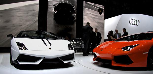 Lamborghini Gallardo Performante Aventador Autosalon Geneve 2011
