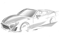 Toyota FT-86 Open Concept sketch GT86 cabrio
