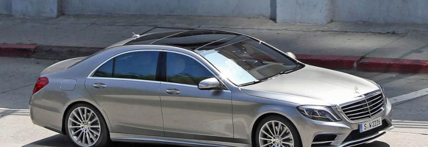 Mercedes-benz S-klasse 2013 2014 spyshot