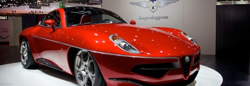 Touring Superlegerra Disco Volante Autosalon Genève 2013