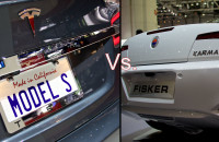 Tesla Model S Vs Fisker Karma