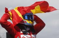 Fernando Alonso Grand Prix Spanje