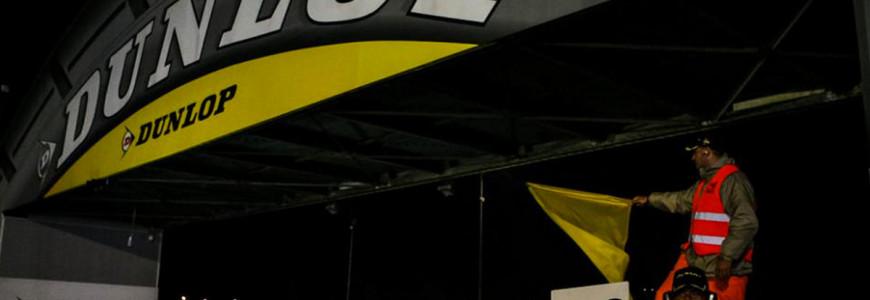 24h Le Mans Safety Car Dunlop Curve Bridge