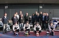 Williams F1 team Silverstone 2013 600th Grand Prix