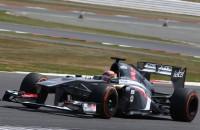 F1 Young Driver Test Sauber F1 Robin Frijns