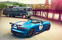 Jaguar Project 7 op D-type geinspireerde F-Type