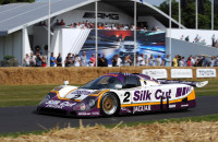 Jaguar XJR 8 9 Le Mans Goodwood 2013 Justin Law