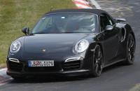 Porsche 911 Turbo S Convertible 2014 Nurburgring Spyshots 2thetrack