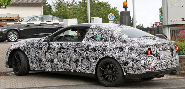 BMW 2014 M3 M4 Coupe spyshots