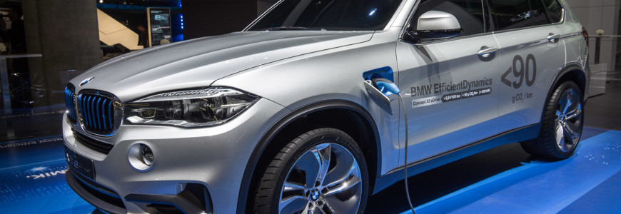 BMW EfficientDynamics X5 e-Drive IAA Frankfurt 2013-1