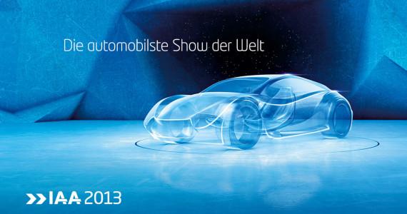 IAA Frankfurt 2013 Poster Die automobilste Show der Welt