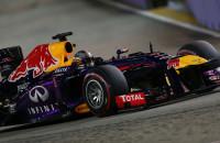 Sebastian Vettel Red Bull Racing Grand Prix Singapore 2013