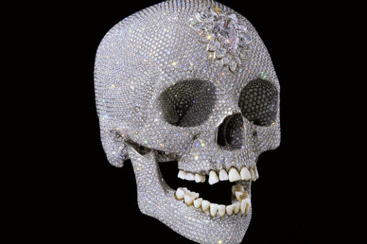 Damien Hirst For the Love of God 100 million Diamond and Platinum Skull