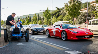 Bugatti Ferrari Mille Miglia 2012 Ferrari Tribute-1