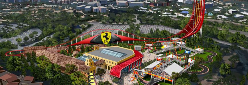 Ferrari pretpark portaventura spanje