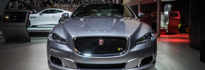 Jaguar XJR Limousine Autosalon Geneve 2014-1