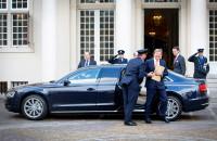 Koning Willem Alexander Audi A8L RemtezCar Liomousine