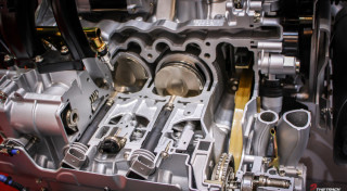 Porsche 911 GT3 Cup Engine Autosalon Geneve 2009-1