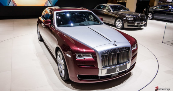 Rolls Royce Ghost Series II Facelift Autosalon Geneve 2014-1