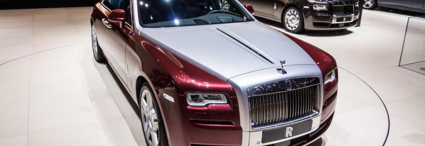Rolls Royce Ghost Series II Facelift Autosalon Geneve 2014-1