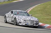 mercedes-benz AMG GT spyshots