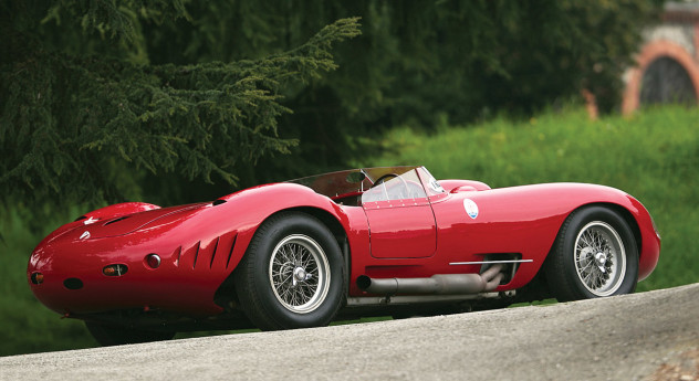 1956 Maserati 450S Prototype by Fantuzzi rear