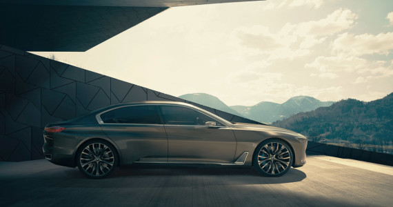 BMW Vision Future Luxury Concept BMW 9-serie beijing 2014