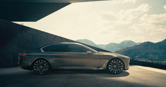 BMW Vision Future Luxury Concept BMW 9-serie beijing 2014