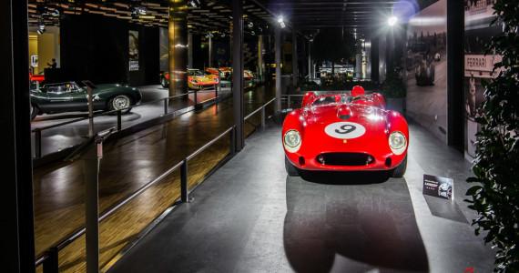 Ferrari 250 Testa Rossa Le Mans Legends Autosalon Geneve 2014-1