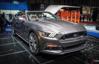 Ford Mustang Convertible 2015 Autosalon Geneve 2014-1