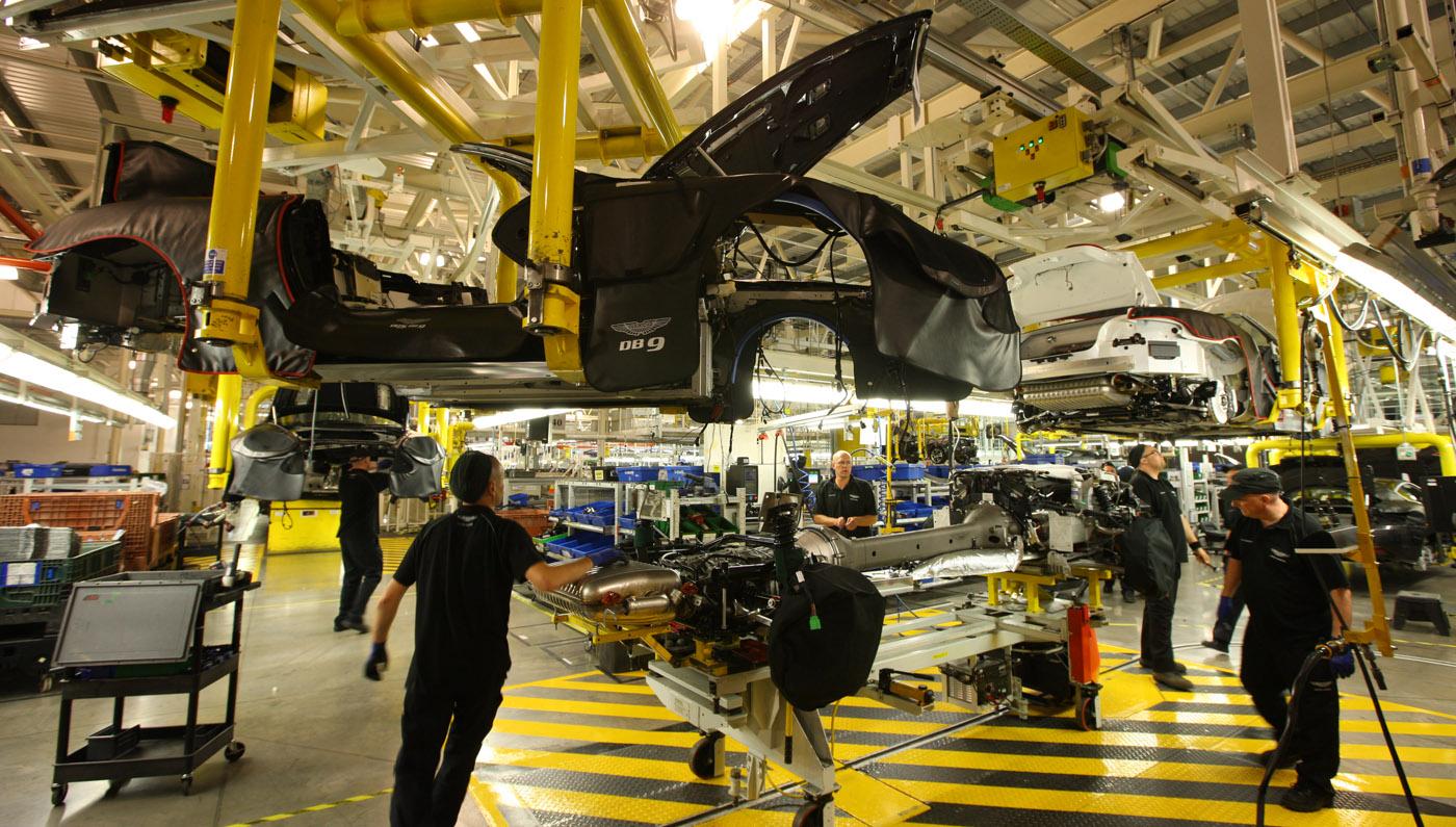 Aston Martin Gaydon production Mariage