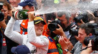Nico Rosberg Mercedes AMG F1 Monaco Grand prix 2014